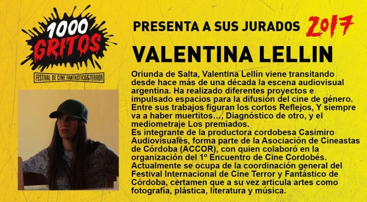 cartel valentina lellin